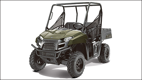 2013 Polaris Ranger 400 front 3/4 view