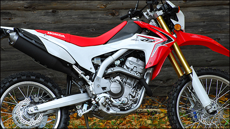 2013 Honda CRF 250L side view