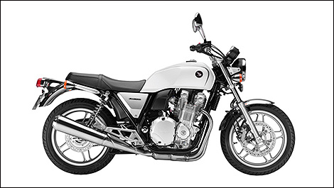 2013 Honda CB1100A side view