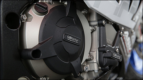 2013 BMW HP4 Competition engine