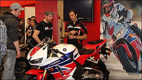 Salon de la moto de montr al du 28 f vrier au 2 mars 2014 - Salon de moto montreal ...