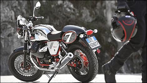 2014 Moto Guzzi V7 Preview