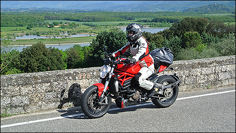 2014 Ducati Monster 1200 side view