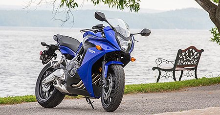2014 Honda CBR650F Review