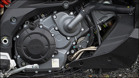 2015 Aprilia Caponord 1200 ABS Travel Pack engine