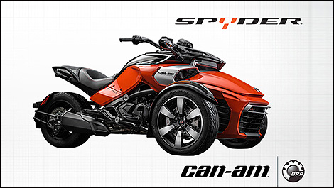 Voici le Can-Am Spyder F3