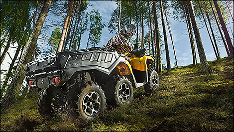 2015 Can-Am Outlander 1000 6x6 XT