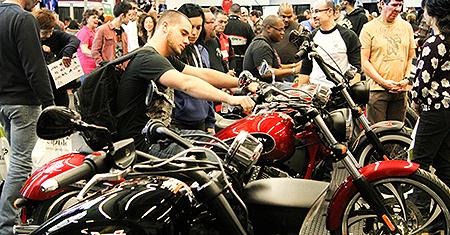 Moto123 essais routiers fiches techniques actualit s - Salon de moto montreal ...