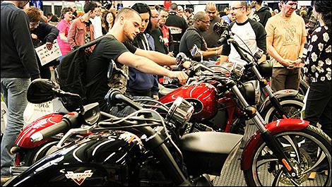 2015 montreal and quebec city motorcycle shows announced - Salon de moto montreal ...