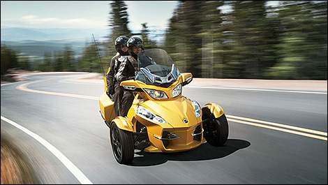 Can-Am Spyder 2013