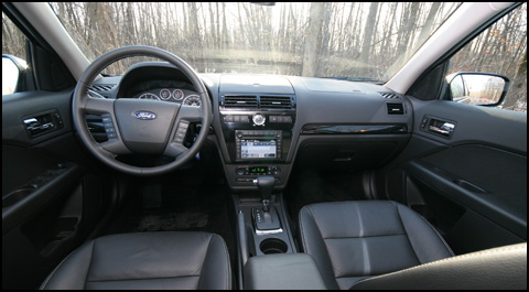 2007 Ford Fusion Reviews >> 2007 Ford Fusion Sel Awd Road Test