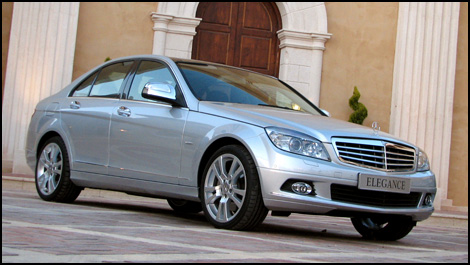 2008 mercedes c class first impressions. Black Bedroom Furniture Sets. Home Design Ideas