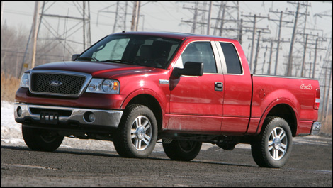 2007 ford f-150 supercab lariat 4wd flex-fuel road test