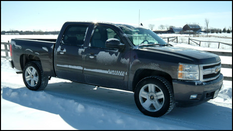 2007 chevrolet silverado 1500 crew cab ltz 4wd road test. Black Bedroom Furniture Sets. Home Design Ideas