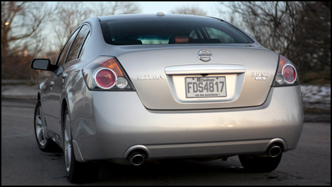 2007 nissan altima 3.5se road test