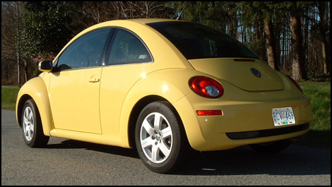 voiture coccinelle 2007