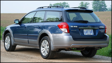 2008 subaru outback first impressions. Black Bedroom Furniture Sets. Home Design Ideas