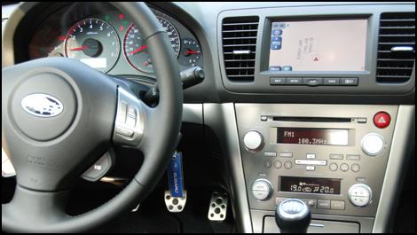 Subaru legacy 2008 premi res impressions for Subaru interieur