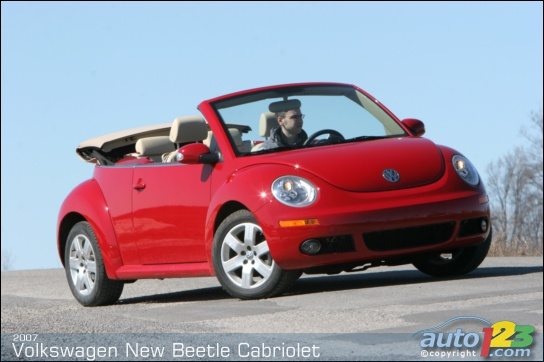 Photos 2007 Volkswagen New Beetle 2 5 Convertible Road Test