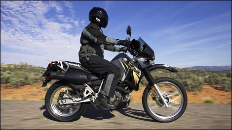 2007 Kawasaki Klr650 Road Test