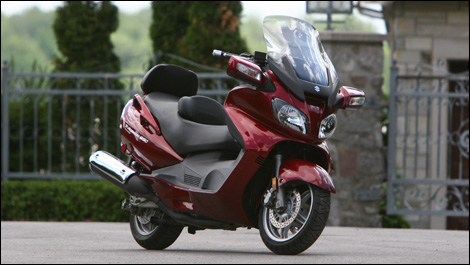 2007 Suzuki Burgman 650 Executive Road Test