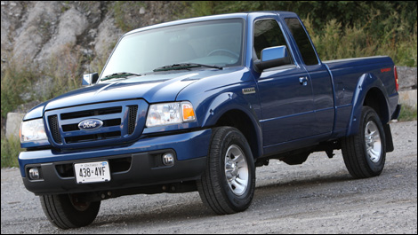 ford ranger sport 4x2 cabine double 2007 essai. Black Bedroom Furniture Sets. Home Design Ideas