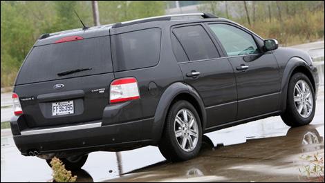 2008 Ford Taurus X Limited Awd Road Test