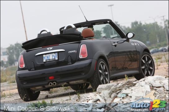 Photos Mini Cooper S Cabriolet Sidewalk 2007 Essai