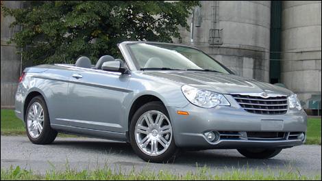 2008 Chrysler Sebring Limited Convertible Road Test