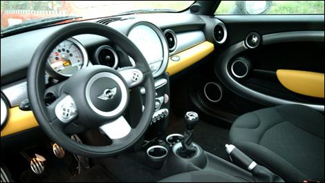 Mini Cooper S 2008 Essai