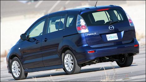 2007 Mazda5 Gs Road Test