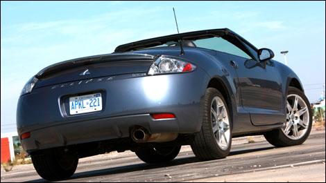 2008 Mitsubishi Eclipse Spyder 2008 Mitsubishi Eclipse Spyder