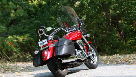 How Much Does A  Yamaha V Star Weigh
