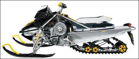 2008 Ski-Doo MX Z 600 H.O. SDI Preview