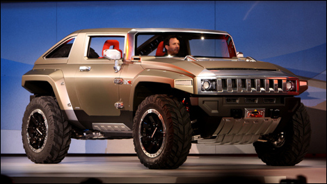 Detroit 2008: Hummer HX and Saab 9-4X concepts unveiled (video)