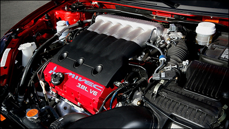 The V6 Engine Of Eclipse Gt P Delivers Strong Performances To Detriment Fuel Economy