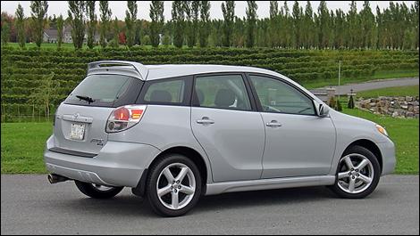 2008 Toyota Matrix Trd Review
