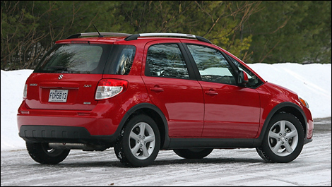 2008 suzuki sx4 hatchback jlx awd review. Black Bedroom Furniture Sets. Home Design Ideas