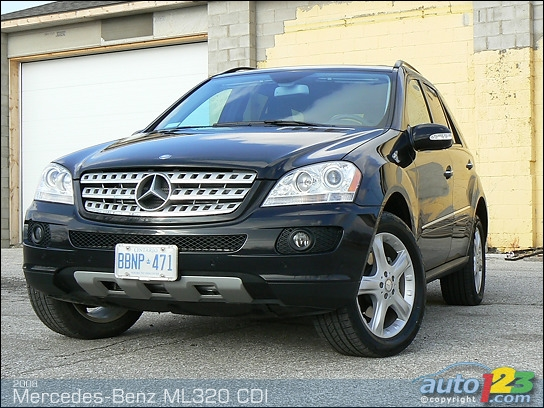 Photos 2008 Mercedes Benz Ml320 Cdi Review