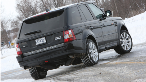 range rover sport supercharged 2008 essai routier. Black Bedroom Furniture Sets. Home Design Ideas