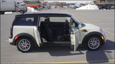 2008 mini cooper clubman review. Black Bedroom Furniture Sets. Home Design Ideas