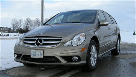 2008 Mercedes-Benz R320 CDI Review
