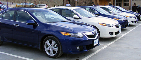 Acura  Review on 2009 Acura Tsx First Impressions Review