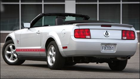 2008 ford mustang warriors in pink edition for sale