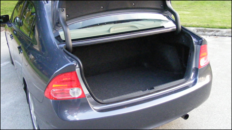 Trunk Space Is Slightly Diminished Due To The Battery Pack Located Behind  The Rear Seat.