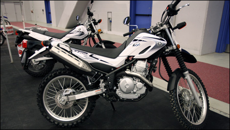 2008 Yamaha XT250 Preview