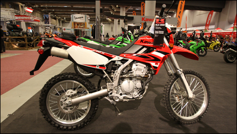 2009 Kawasaki KLX 250S Preview