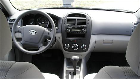 2008 Kia Spectra5 Lx Convenience Review
