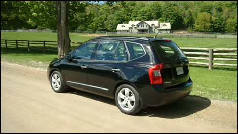 2008 Kia Rondo Ex V6 Review
