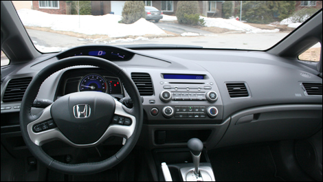 2008 honda civic ex l review for Honda civic 8 interieur